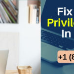 Fix Sage 50 Security Privilege Error +1 (800) 796-0471