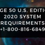 Sage 50 U.S. Edition 2020 System Requirements +1-800-816-6849